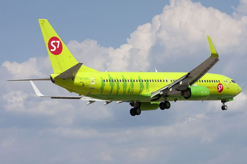 В Ларнаку новым рейсом из Новосибирска от S7
