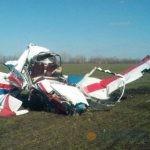 Под Липецком разбился частный самолет